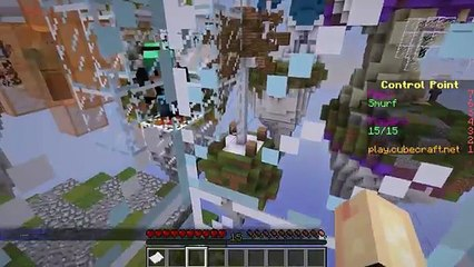 Control Point with Gamer Chad AKA Tower Defenders! Minecraft Cubecraft Server Minigame