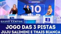 Jogo das 3 Pistas - Programa Silvio Santos 28.01.18