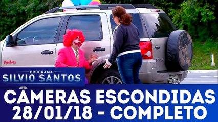 Câmeras Escondidas - Programa Silvio Santos - 28.01.18