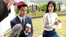 '구해줘' 서예지, 과거 김수현과 입술이 '닿을락 말락' 달달한 푸딩 CF 촬영 현장