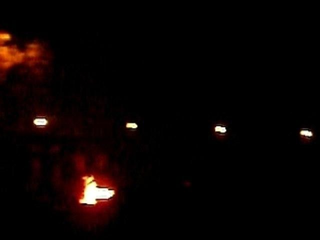 24h du Mans 2007 Camping la nuit