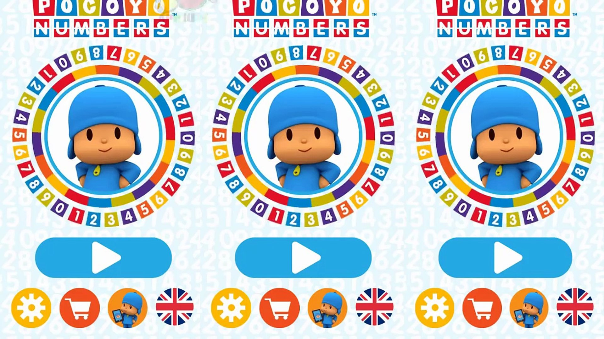 123 Pocoyo Number : Preview app : Education app for kids
