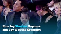 Blue Ivy Shushes Beyoncé and Jay-Z at the Grammys