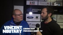 Provence Rugby / Strasboug : la réaction de Julien Chastanet