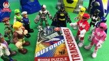 Transformers Rescue Bots Epic Optimus Prime Battles Imaginext Power Rangers Morphin Megazord