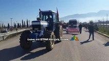Oι αγρότες της Φθιώτιδας κλείνουν την εθνική οδό Αθηνών Λαμίας