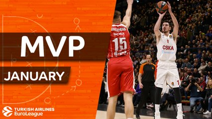 MVP for January: Nando De Colo, CSKA Moscow