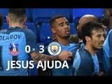 Gabriel Jesus vs Crystal Palace (28/01/2017) GABRIEL TITULAR ● Crystal Palace vs Manchester City 0-3