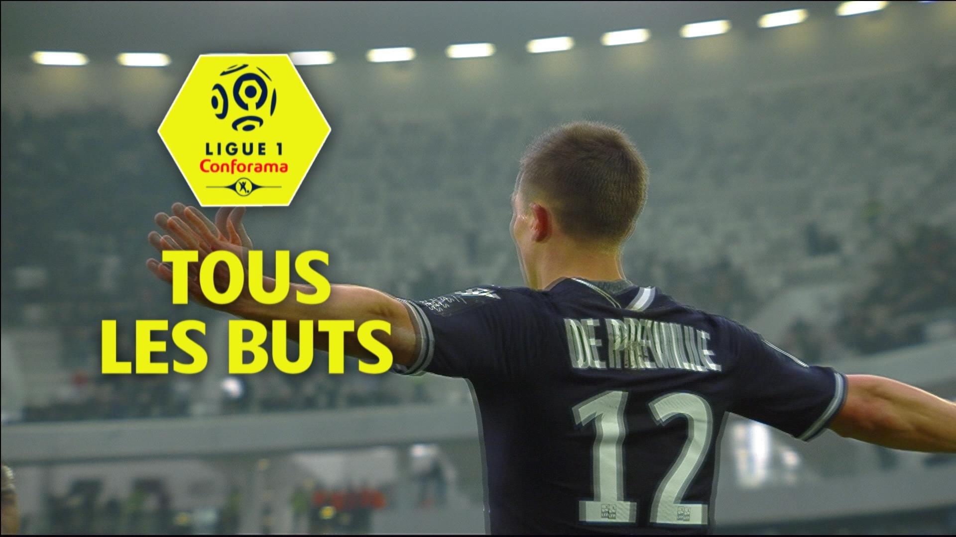 Tous les buts de la 23ème journée - Ligue 1 Conforama / 2017-18