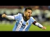 Messi vs Ecuador (10/10/2017) FEZ TRÊS GOLS E GARANTIU A VAGA DA ARGENTINA NA COPA