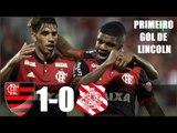 Flamengo 1 x 0 Bangú - LINCOLN FEZ GOL E BRILHOU ! Melhores Momentos (HD 720p)  24/01/2018