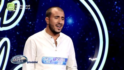 38.Arab Idolالموسم الرابع – تجارب الاداء- مهند الخطيب