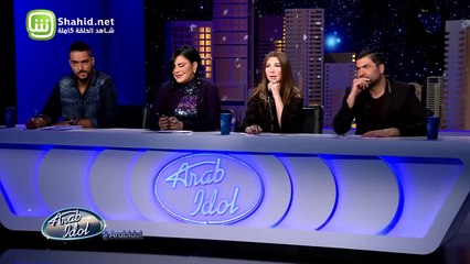39.Arab Idolالموسم الرابع – تجارب الاداء- نسرين صافي