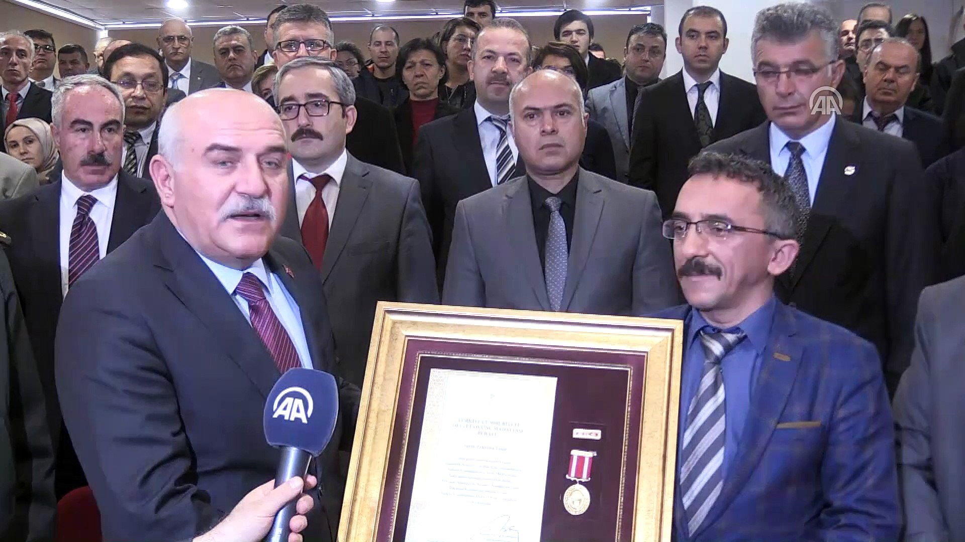 Devlet Övünç Madalyası ve Beratı Tevcih Töreni - SİNOP