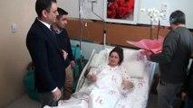 Sağlık için zamanla yarıştılar... Doğum yapan kadın feribotla hastaneye nakledildi