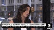 Hope Solo Running For U.S. Soccer President