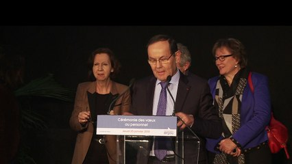 Voeux 2018 -Discours Christian Gillet