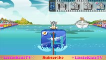 Tom and Jerry Tricky Skiing on Water - Tom And Jerry Game For Kids