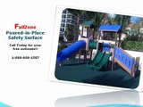 Playground Surfaces FallZone Safety Surface Playground Surfacing - YouTube