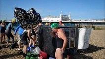 The Charity Swimmer Fionas Brighton Swim July 19 2015