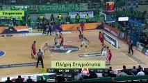 Παναθηναϊκός 68-61 Ολυμπιακός - 4η Περίοδος - Στιγμιότυπα - 29.01.2018