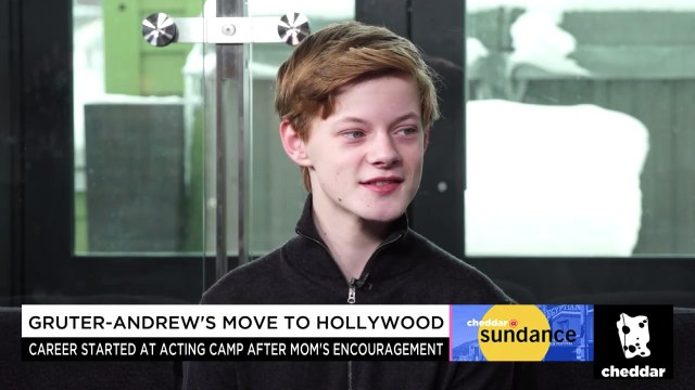"""How """"Summer of '84"""" Actor Cory Gruter-Andrew Got Into Acting"""