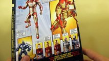 Iron Man 3 - Marvel Legends - Iron Man Mark 42 Action Figure Review (Iron Monger Build-a-Figure)
