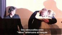 """Retrouvailles entre """"héros"""" américains et français du Thalys"""