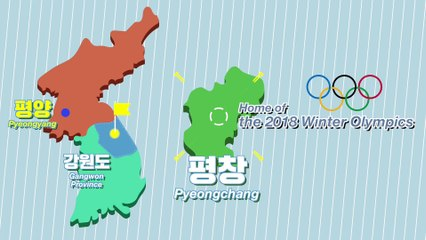 Where is PyeongChang (Home of 2018 Winter Olympic Games in Seoul)