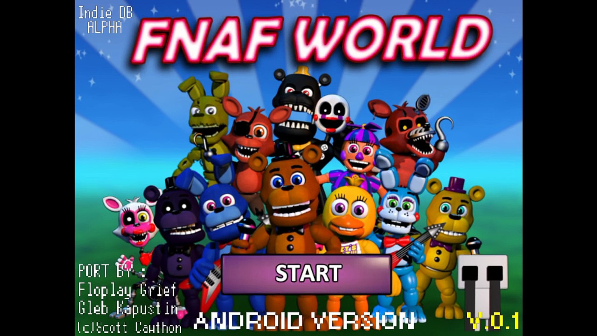 [FANPORT] FNaF World Android Version v0 1