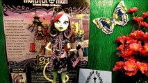Catrine DeMew Scaris Катрин ДеМяу Скариж Monster High ОБЗОР РАСПАКОВКА