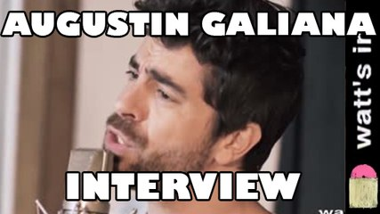 Agustin Galiana : Carmina Interview Exclu