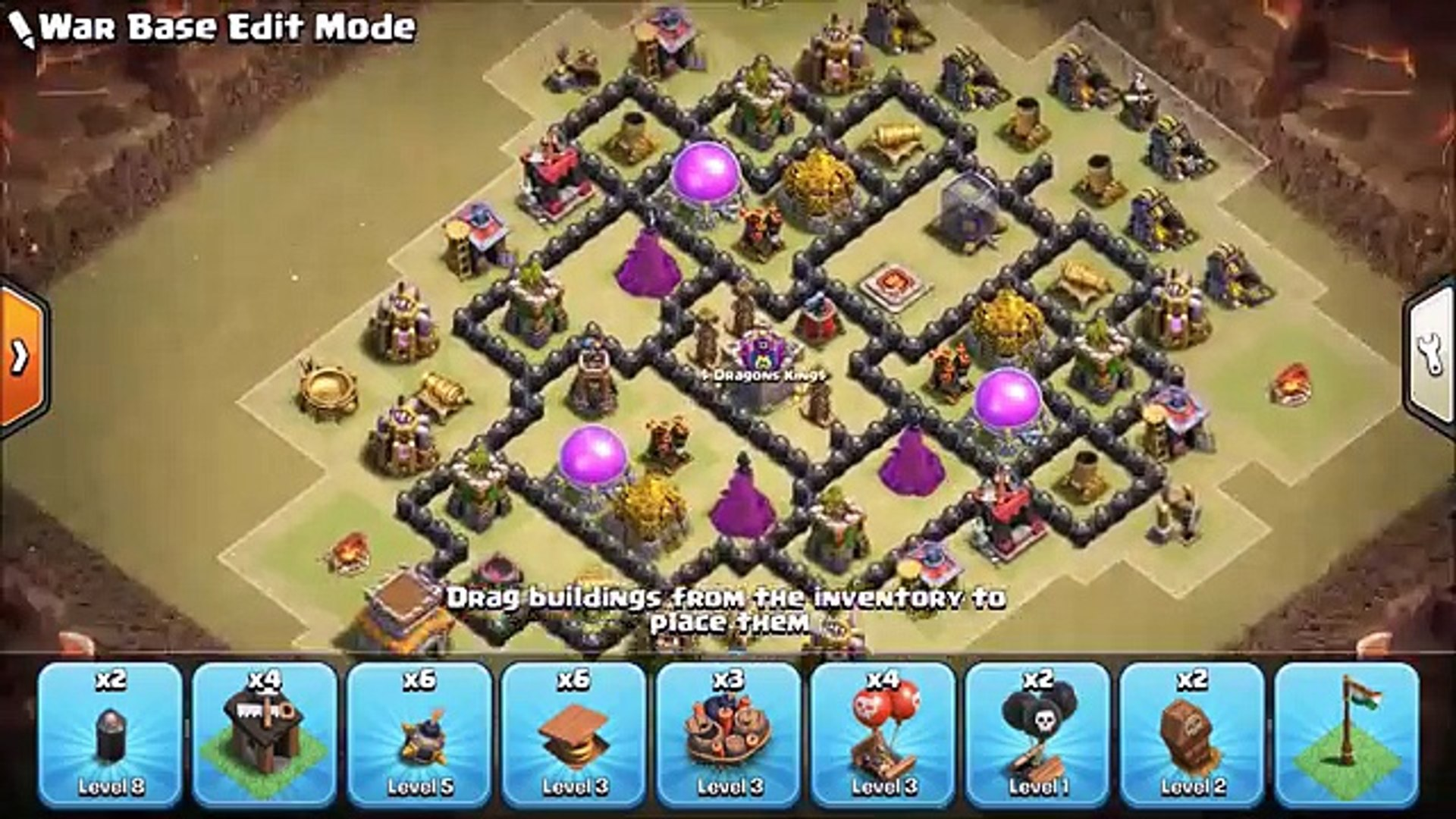 Town Hall 8 Th8 War Base 2018 Anti Dragon Anti Everything Anti 3 Star Clash Of Clans Video Dailymotion