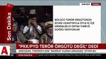 Cumhurbaşkanı Erdoğan: PKK�nın izinden giden CHP�nin ÖSO�ya gelince nevri dönüyor