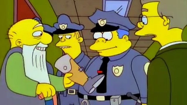 The Simpsons - Jasper - You shot who in the what now?