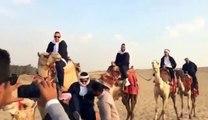 """الفنان محمد إمام ينشر فيديو كوميدي من كواليس فيلم """"كابتن مصر"""" .. هل تتذكر اسمه في هذا الفيلم؟"""