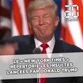 Etats-Unis: Le «New York Times» répertorie les insultes lancées par Donald Trump sur Twitter