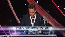 Sam Rockwell_ Acceptance Speech _ 24th Annual SAG Awards