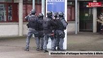 VIDEO. Un attentat terroriste simulé dans un lycée de Blois