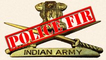 FIR Registered Against Indian Army in Jammu and Kashmir | OneIndia News