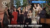 Franck Sorbier Paris Haute Couture Spring 2018 Shall We Dance Collection | FashionTV | FTV