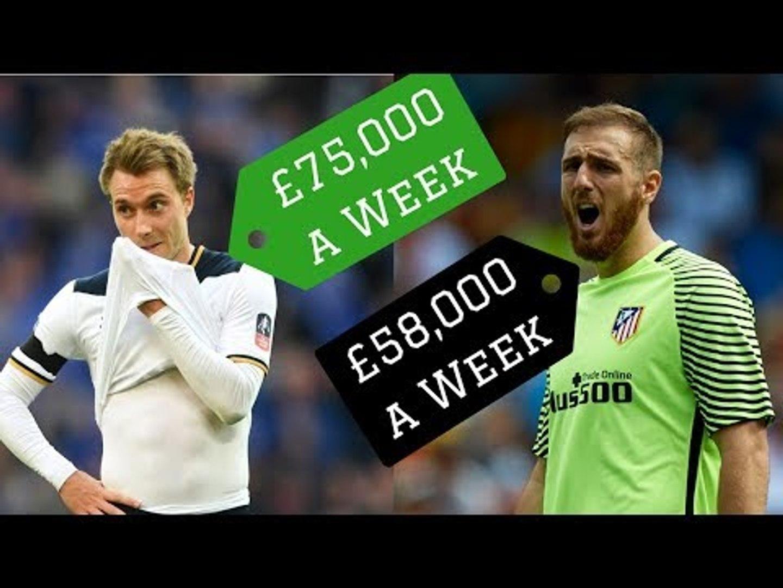 7 Best Footballers on Under £100,000 a Week