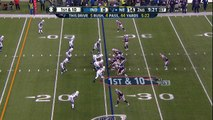 Indianapolis Colts linebacker D'Qwell Jackson picks off New England Patriots quarterback Tom Brady