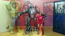 Unboxing Jeff Bridges as Hot Toys Iron Monger 1/6 Scale MMS 164 Iron Man Limited Figure