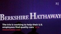 Amazon, JPMorgan, Berkshire Hathaway Form Health Care Company