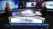 THE SPIN ROOM | One-on-one with Journalist Arne Lapidus | Tuesday, January 30th 2018