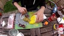 nerf full paintjob (spray painting - dry brushing - faux wood grip)