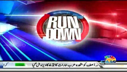 Run Down - 30th January 2018