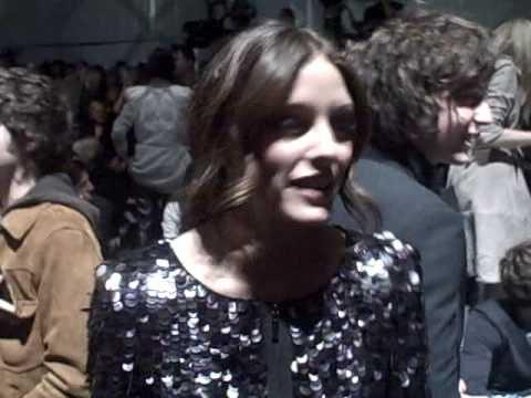LFW Burberry: Olivia Palermo!| Grazia UK