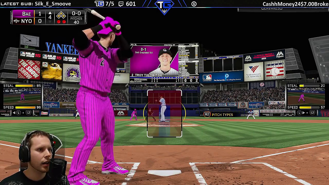 MLB 15 Diamond Dynasty Streaming Highlights